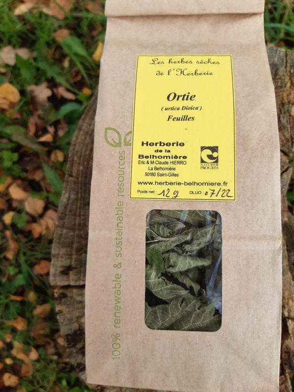 sachet de feuilles d'orties
