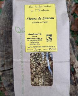 sachet de fleurs de sureau