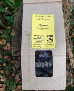 Sachet de fleurs d'Hysope