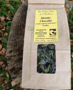 Sachet de menthe chocolat